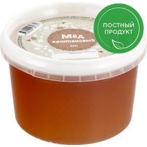 Мед каштановый 350 г Амурская обл.
