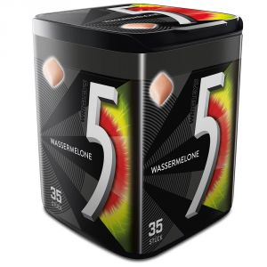 Жевательная резинка 5 Gum124гр Wassermelone (арбуз)