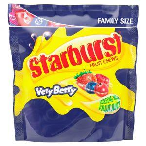 Жевательные конфеты Starburst Fruit Chews Very Berry 210г