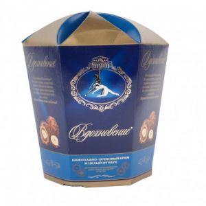 Конфеты Вдохновение шоколад/орех. крем/цельн. фундук