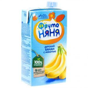 Нектар Фрутоняня 0,5 л Банан с мякотью (Прогресс)
