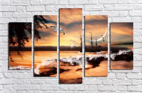 Модульная картина Пейзажи и природа 23