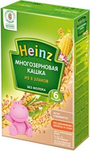 Каша Хайнц 200 гр многозерновая из 5 злаков