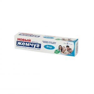 Зубная паста Новый жемчуг 50мл/70 гр Фтор
