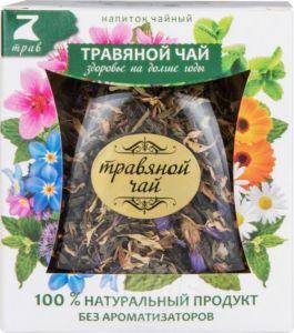 Напиток чайный цветочно-травяной 7 трав для бани 35г*20п*12 67825