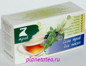 Напиток чайный цветочно-травяной 7 трав для покоя 35г*20п*12 68069