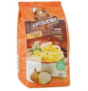 Пюре Картошечка 320 гр с жар. луком пакет