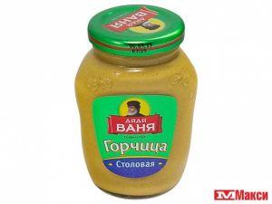 """Горчица """"Столовая"""" твист Дядя Ваня 140 гр."""