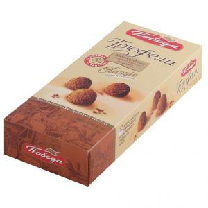 Конфеты Трюфели шоколадные посыпанные какао