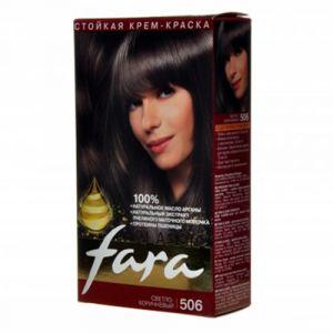 Краска FARA Classic 506 светло- коричневый