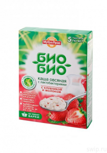 """Каша овсяная Био-Био 40 гр """"Мюллюн Парас"""""""
