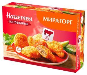 Наггетсы из говядины 300 гр (Мираторг)