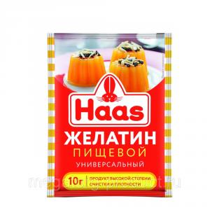 Желатин пищевой HAAS 10г