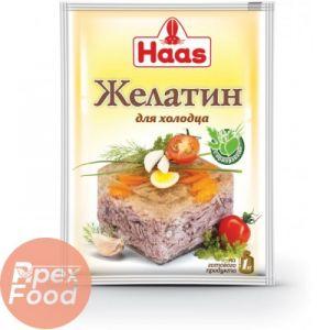 Желатин со специями HAAS 25г для холодца