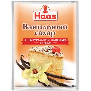 Ванильный сахар HAAS с натуральной ванилью 15г