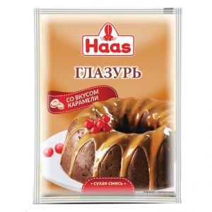 Глазурь HAAS 75г со вкусом Карамели