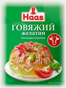 Желатин говяжий HAAS 20г