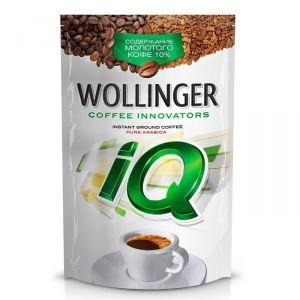 Кофе WOLLINGER IQ 150 гр сублимир. с добав. молотого пакет
