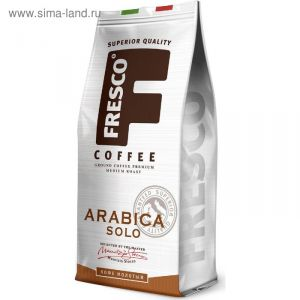 Кофе Fresco Arabica Solo 200г молотый пакет