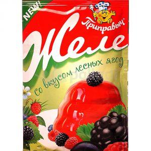 Желе 100 гр Лесная ягода
