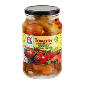 Перец 670 гр горький в дробл. томатной массе с/б Астраханское изобилие