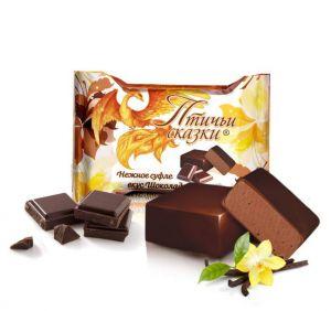 Конфеты Птичьи сказки нежное суфле со вкусом шоколада