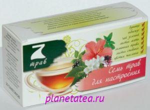 Напиток чайный цветочно-травяной 7 трав для бодрости 30г*20п*12 67765