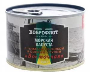 Мор капуста Восточная томат, чеснок, соевый соус №6 250 гр.