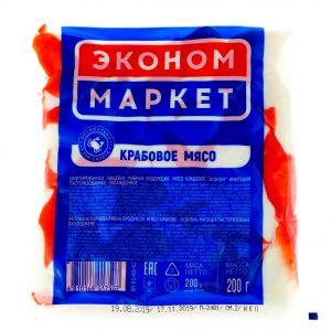 Мясо крабовое имитация 200 г Эконом