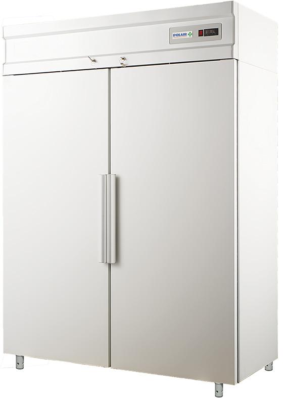 Фармацевтический холодильный шкаф Polair ШХКФ-1,4 (0,7-0,7)