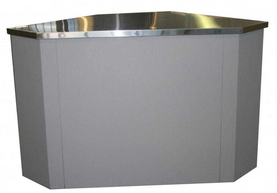 Неохлаждаемый прилавок У-1 Полюс (внешний угол)
