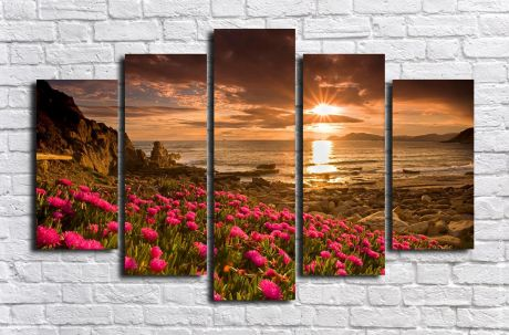 Модульная картина Пейзажи и природа 136
