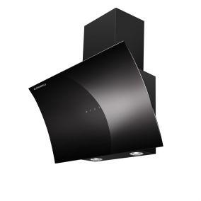Вытяжка наклонная  MAUNFELD BLAST 60 ЧЕРНОЕ стекло