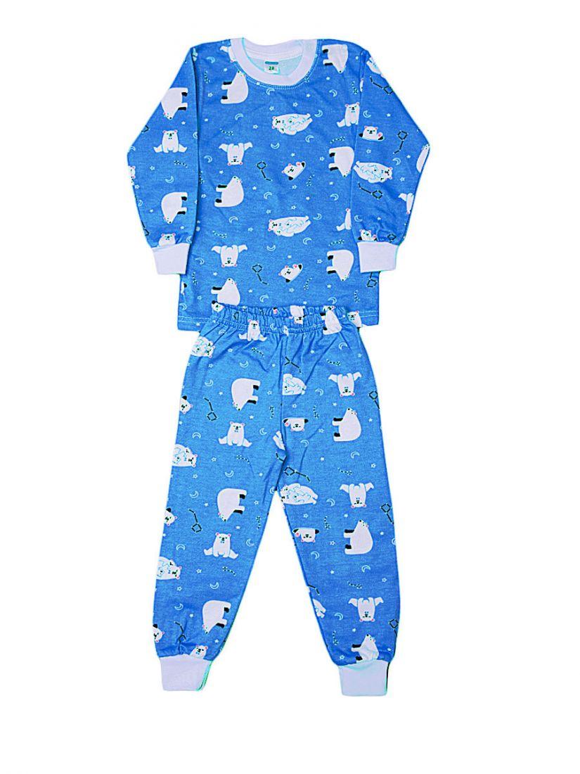Пижама с начесом Полярный мишка
