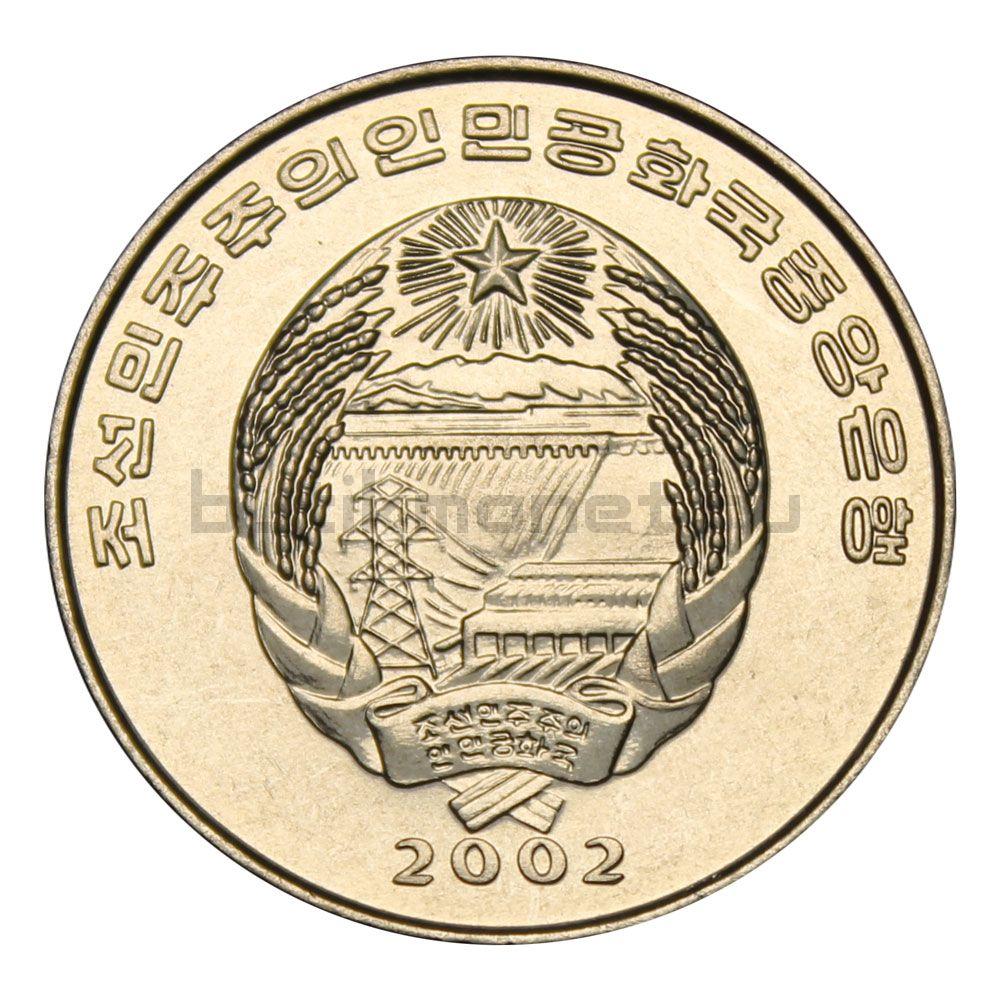 1/2 чона 2002 Северная Корея Корабль викингов (ФАО)