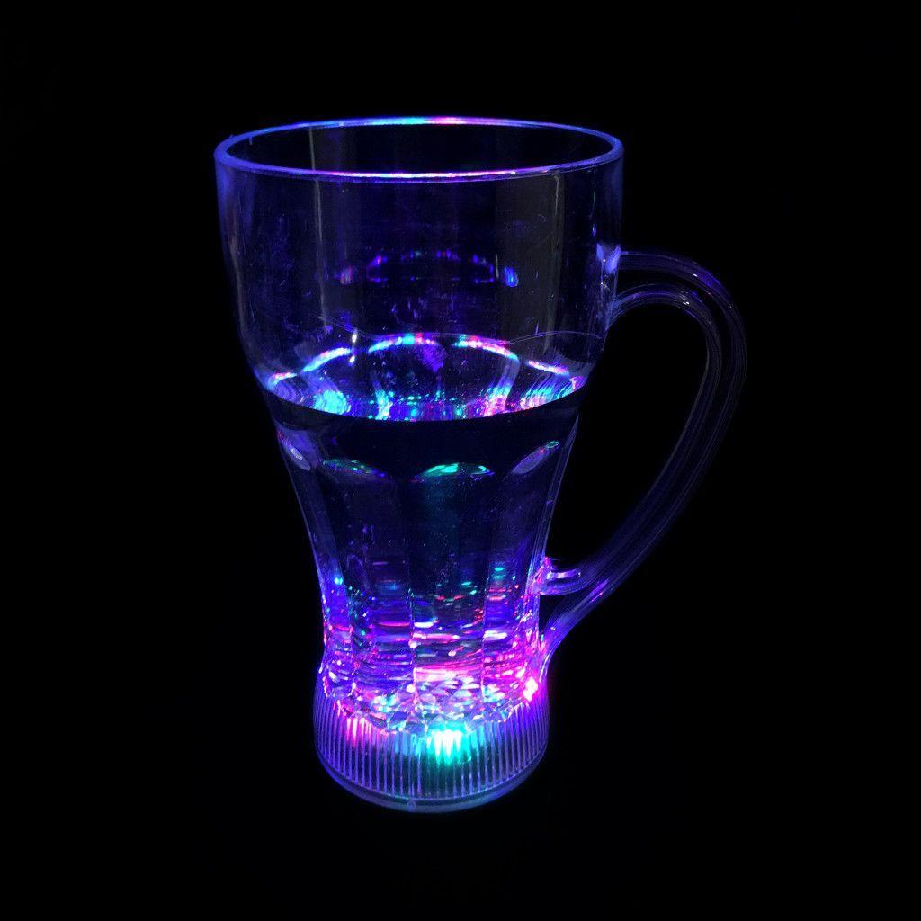 Высокая светящаяся кружка Blinking Glass