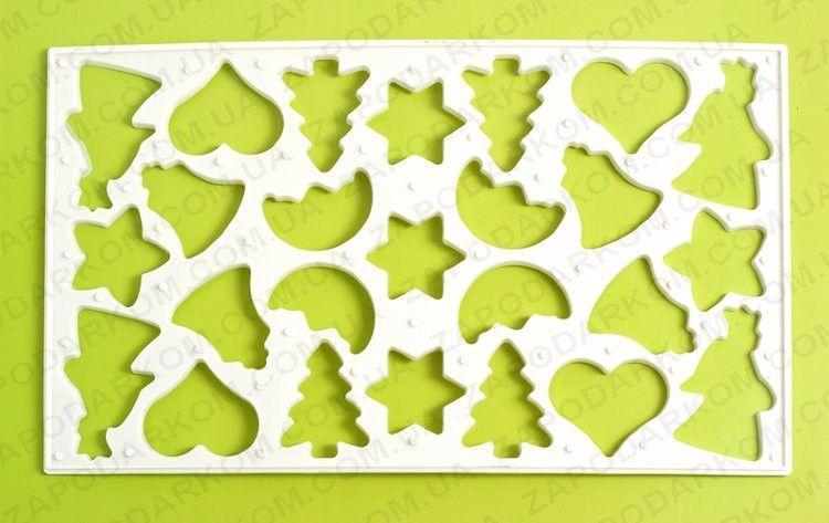 Рождественская форма для печенья Мой мир