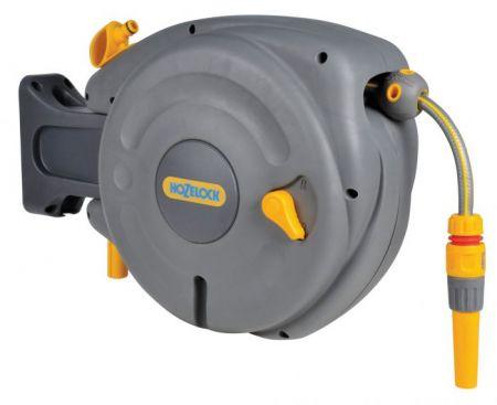 """Катушка Авто HoZelock 2485 Pro со шлангом 1/2"""" 10 м, коннекторами и наконечником для шланга"""