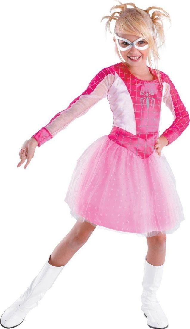 Детский костюм Розовой Спайдергерл