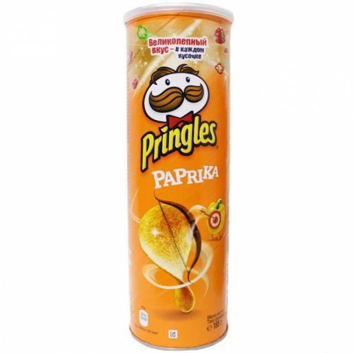 Çipsi Pringles  paprika 165 gr