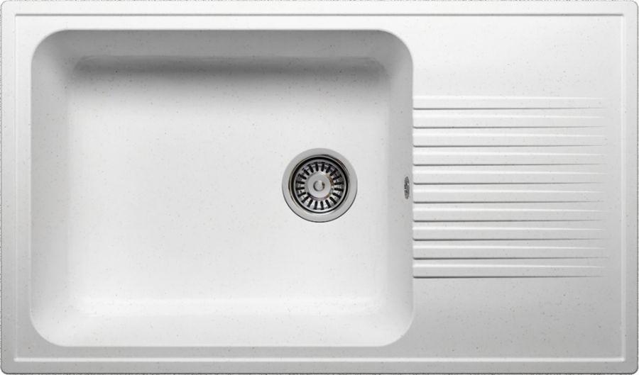 Мойка кухонная POLYGRAN F-19 (F-19 №26 (Белый))
