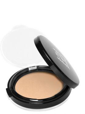 Make-Up Atelier Paris HD Powder Foundation Beige TCHD2B Clear beige Тон компактный с зеркалом HD 2B светло-бежевый