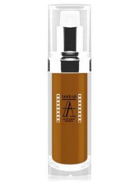 Make-Up Atelier Paris Fluid Foundation Ocher FLW9O Metiss 4 Тон-флюид водостойкий 9O темный метис