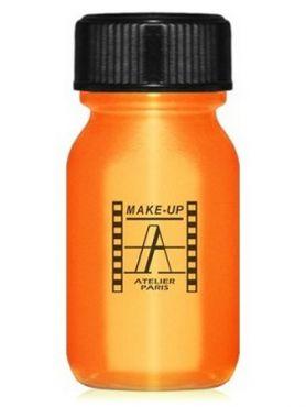 Make-Up Atelier Paris Aquacream AQO Orange Акварель жидкая кремовая оранжевая