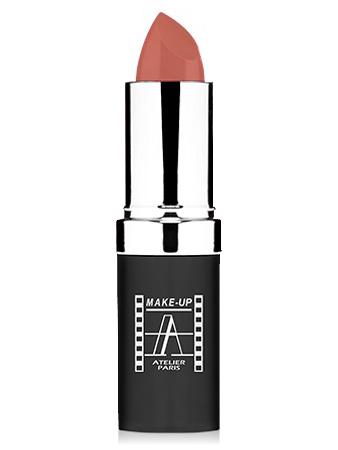 "Make-Up Atelier Paris Cristal Lipstick B012 Pinky beige Помада ""Кристалл"" бежево - розовый"