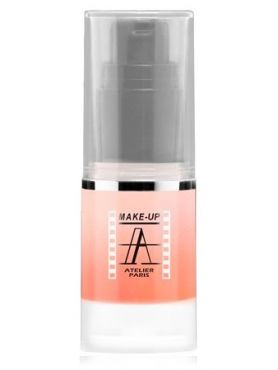 Make-Up Atelier Paris HD Pearled Fluid Blush AIRLI3 Mango Румяна-флюид HD сияющие манго
