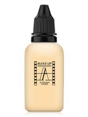 Make-Up Atelier Paris HD Fluid Foundation AIR1Y Yellow clear Корректор-консилер для аэрографа 1Y бледно-золотистый