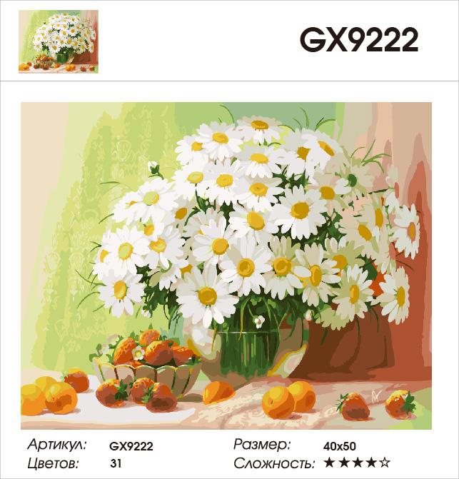 Картина по номерам на холсте GX9222