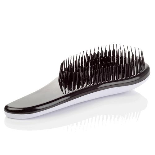 Щётка для распутывания волос Detangler, 18.5 см. Цвет: белый.