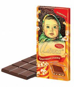 Шоколад АЛЕНКА Хрустящая сказка 100г